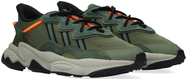 Green ADIDAS Low sneakers OZWEEGO J  - large