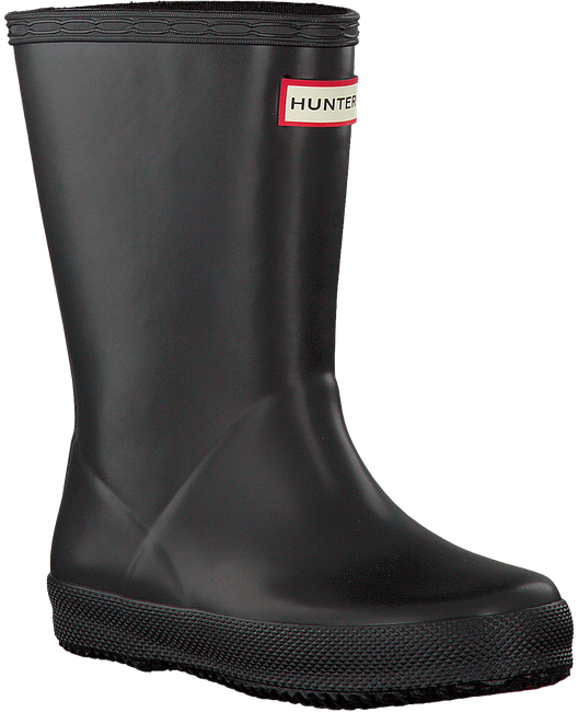 Black HUNTER Rain boots KIDS FIRST CLASSIC - large