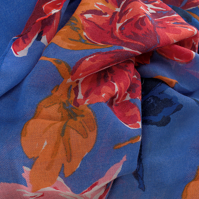 Blue ABOUT ACCESSORIES Scarf 3.73.904  - large