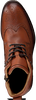 Cognac OMODA Lace-up boots MINFUSA602 - small