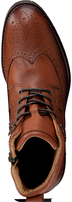 Cognac OMODA Lace-up boots MINFUSA602 - large