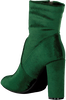Green NIKKIE Booties VELVET ANKLE BOOTS - small