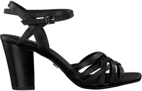 Black LOLA CRUZ Sandals 131Z10BK  - medium