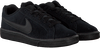 Black NIKE Sneakers COURT ROYALE SUEDE MEN - small