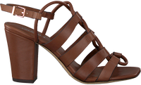 Cognac LOLA CRUZ Sandals 341Z10BK  - medium