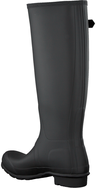 Black HUNTER Rain boots WOMENS ORIGINAL TALL - large