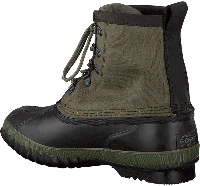Green SOREL Ankle boots CHEYANNE CVS - large