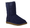 Blue UGG Fur boots CLASSIC SHORT - small