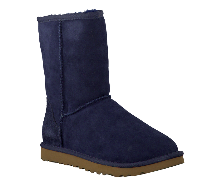 Blue UGG Fur boots CLASSIC SHORT - large