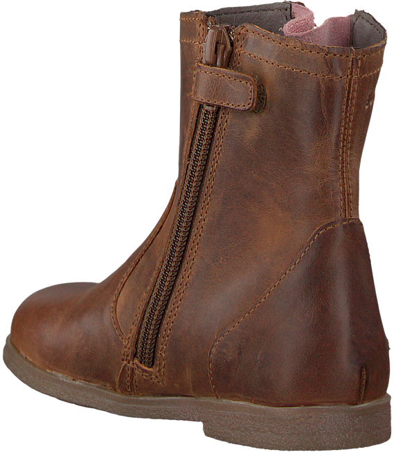 Cognac BUNNIES JR Booties CISS CLASSIC - large