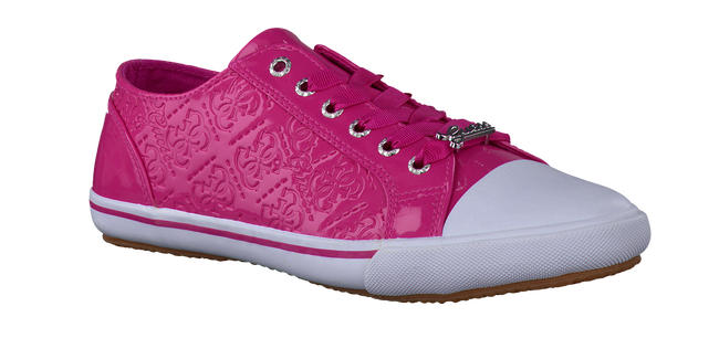Pink GUESS Sneakers LA VERNE LOW - large