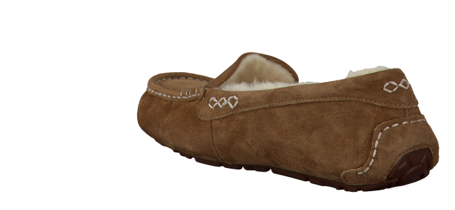 Cognac UGG Slippers ANSLEY - large