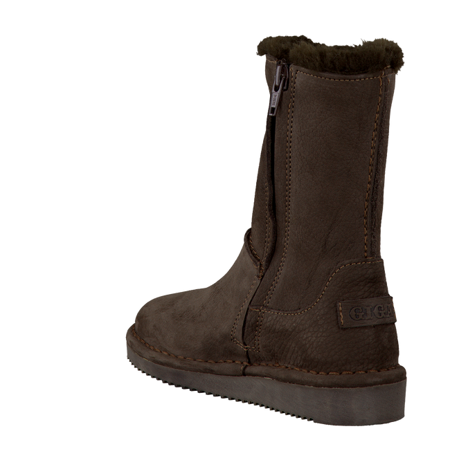 Brown GIGA Fur boots 2551 - large