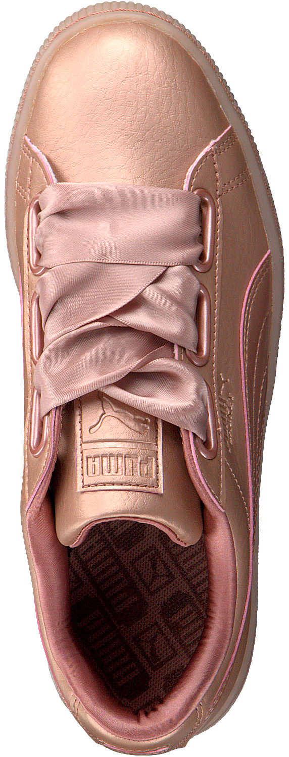 Pink PUMA Sneakers BASKET HEART NS DAMES - large. Next a6e93bfe0
