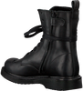 Black STUDIO MAISON Lace-up boots TEENS STAR BOOTTEE - small