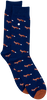 Blue Alfredo Gonzales Socks FOXY  - small