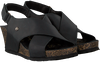 Black PANAMA JACK Sandals VALESKA BASICS B2 - small