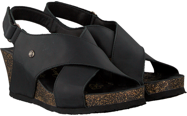 Black PANAMA JACK Sandals VALESKA BASICS B2 - large