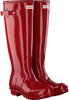 Red HUNTER Rain boots WOMENS ORIGINAL TALL - small