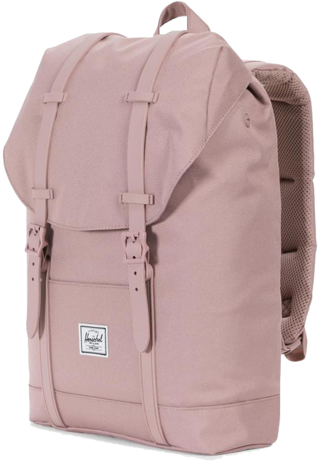 Pink HERSCHEL Backpack RETREAT MID-VOLUME - large