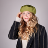 Green Yehwang Hat BARET MADAME 2.0  - small