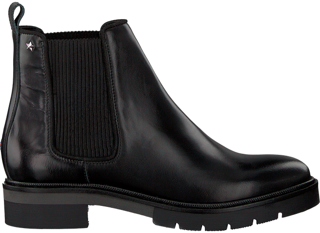 Black TOMMY HILFIGER CHELSEA Chelsea boots METALLIC LEATHER CHELSEA HILFIGER BOOT 67eec8