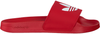 Red ADIDAS Slides ADILETTE LITE J  - medium