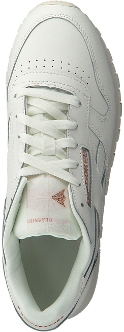 White REEBOK Sneakers CL LTHR WMN  - large