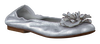 Silver CLIC! Ballet pumps CA7051 - small