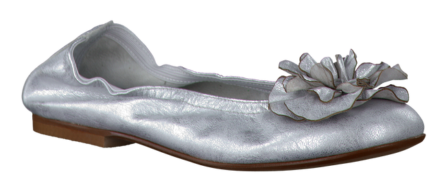Silver CLIC! Ballet pumps CA7051 - large