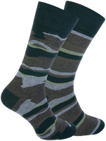 Green MARCMARCS Socks GILLIS COTTON 2-PACK  - medium