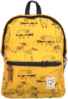 Yellow KIDZROOM Backpack ANIMAL  - medium