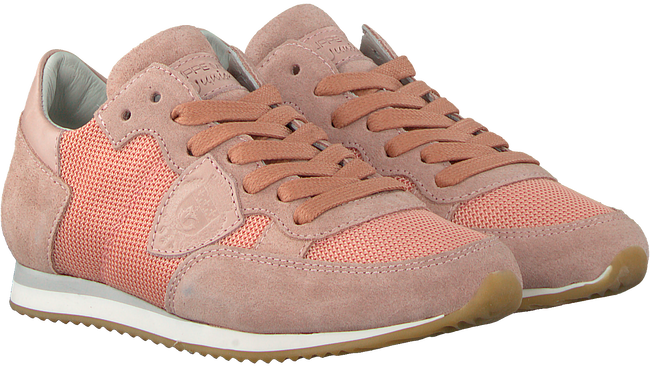 Pink PHILIPPE MODEL Sneakers TROPEZ MESH UP  - large