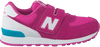 Pink NEW BALANCE Sneakers KV574 - small