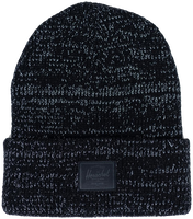 Black HERSCHEL Bonnet ABBOTT REFLECTIVE  - medium