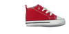 Red CONVERSE Baby shoes FIRST STAR - small