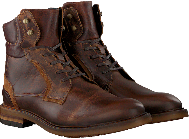 Brown MAZZELTOV Lace-up boots J4997  - large