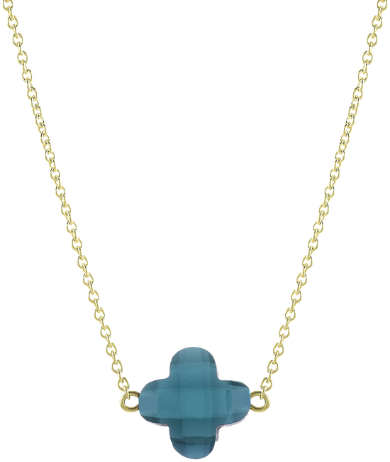 Blue JEWELLERY BY SOPHIE Necklace LUCKY NECKLACE - large