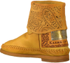 Yellow KARMA OF CHARME Booties HAMMAM - small