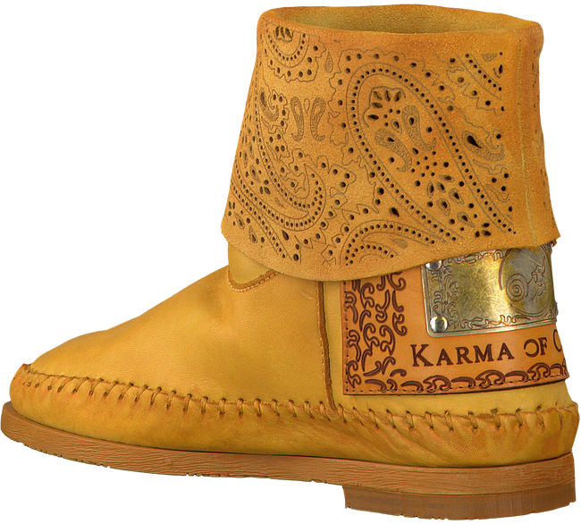 Yellow KARMA OF CHARME Booties HAMMAM - large