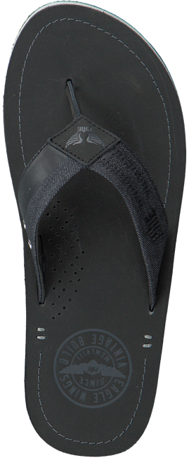 Black PME Flip flops HUNTER - large