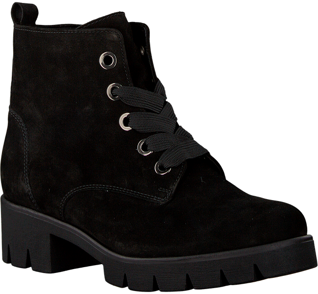 Black GABOR Lace-up boots 93.711.17 - large