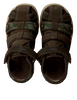 Green TIMBERLAND Sandals PARK HOPPER L/F FISHERMAN KIDS - small