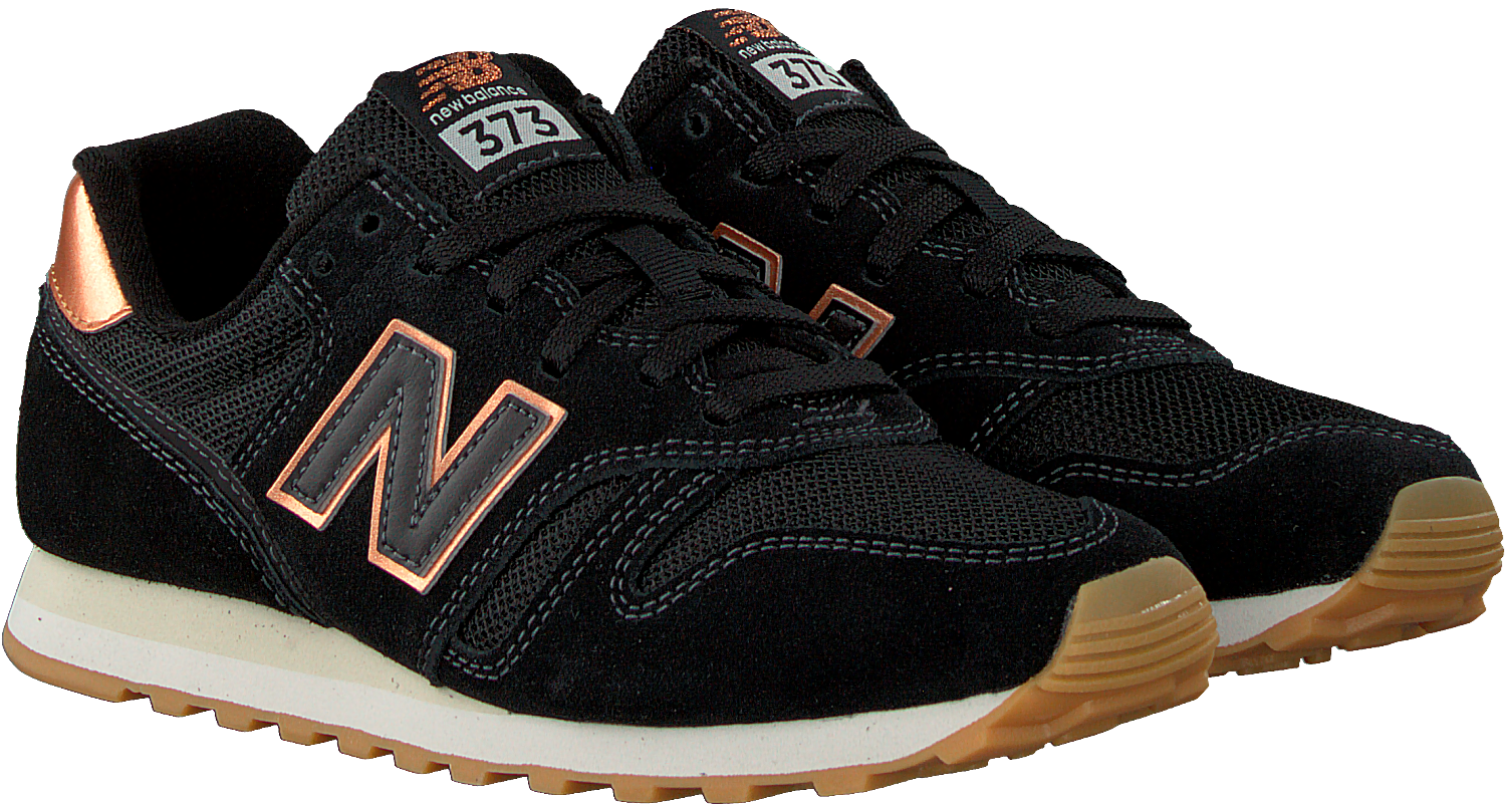 new balance sneakers dames zwart
