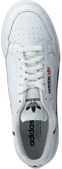 White ADIDAS Sneakers CONTINENTAL 80 W  - large