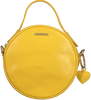 Yellow FABIENNE CHAPOT Shoulder bag ROUNDY BAG  - small