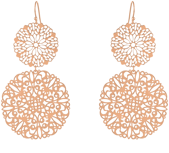 Gold JEWELLERY BY SOPHIE Earrings BABY - large