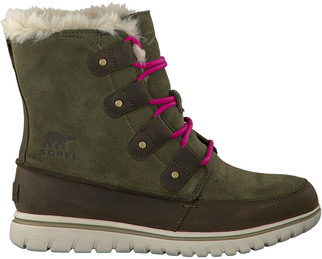 Green SOREL Ankle boots COZY JOAN - large