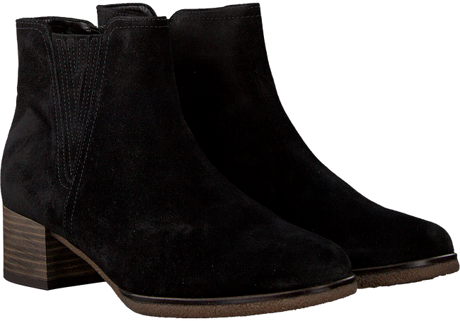 Black GABOR Booties 92.792 - large