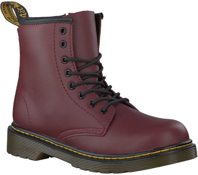 Red DR MARTENS Lace-up boots DELANEY/BROOKLY - large